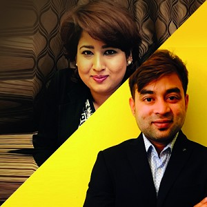 Rupa Jha & Azhar Sheikh: Speaking at the Foreign Direct Investment Expo